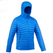Men's Trekking Down Feather Jacket MT100 -5°C Ultra Light and Compact