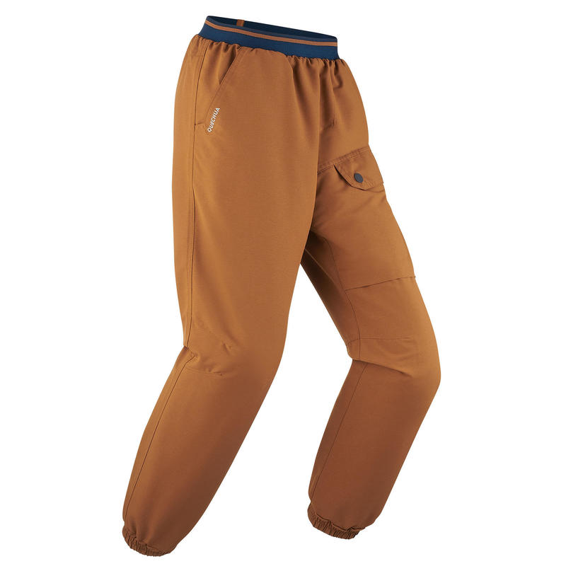 Kids' Warm Water-repellent Hiking Trousers SH100 X-Warm 7-15 Years
