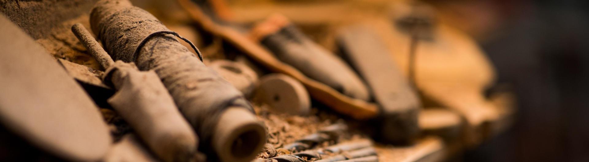 Les outils du sculpteur sur bois Christian Belmas