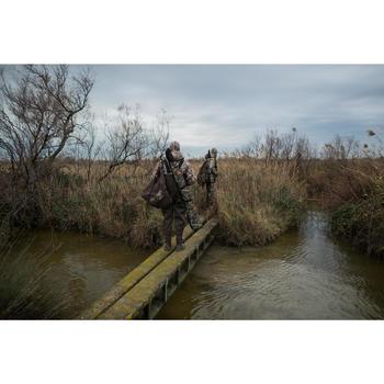 Fourreau fusil chasse camouflage marais 150cm