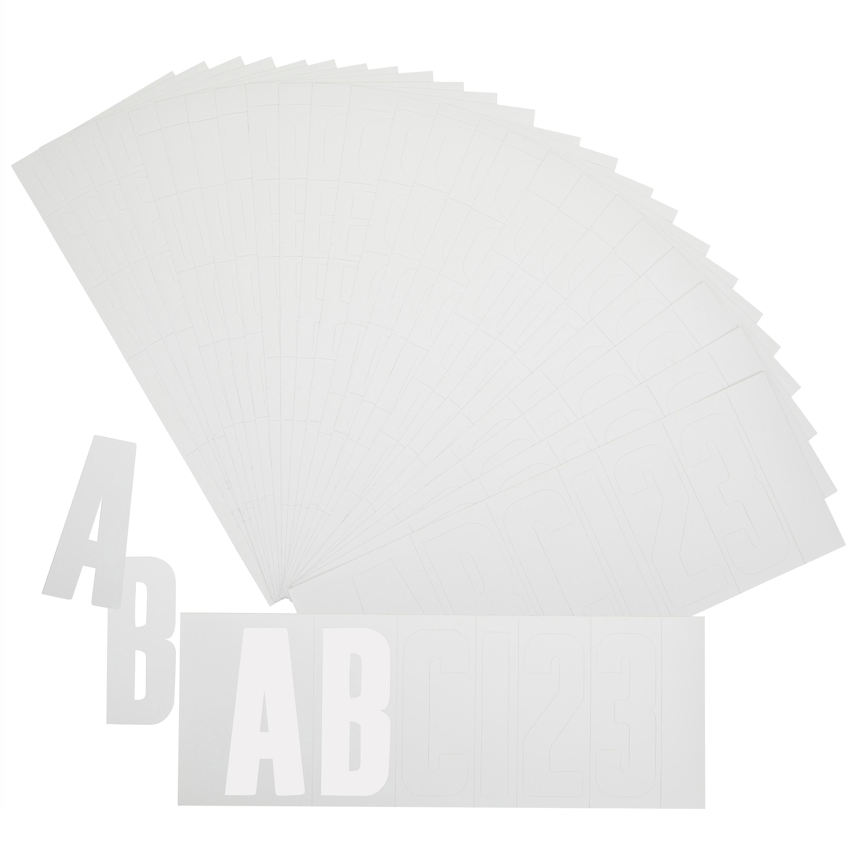 Kit înmatriculare Alb