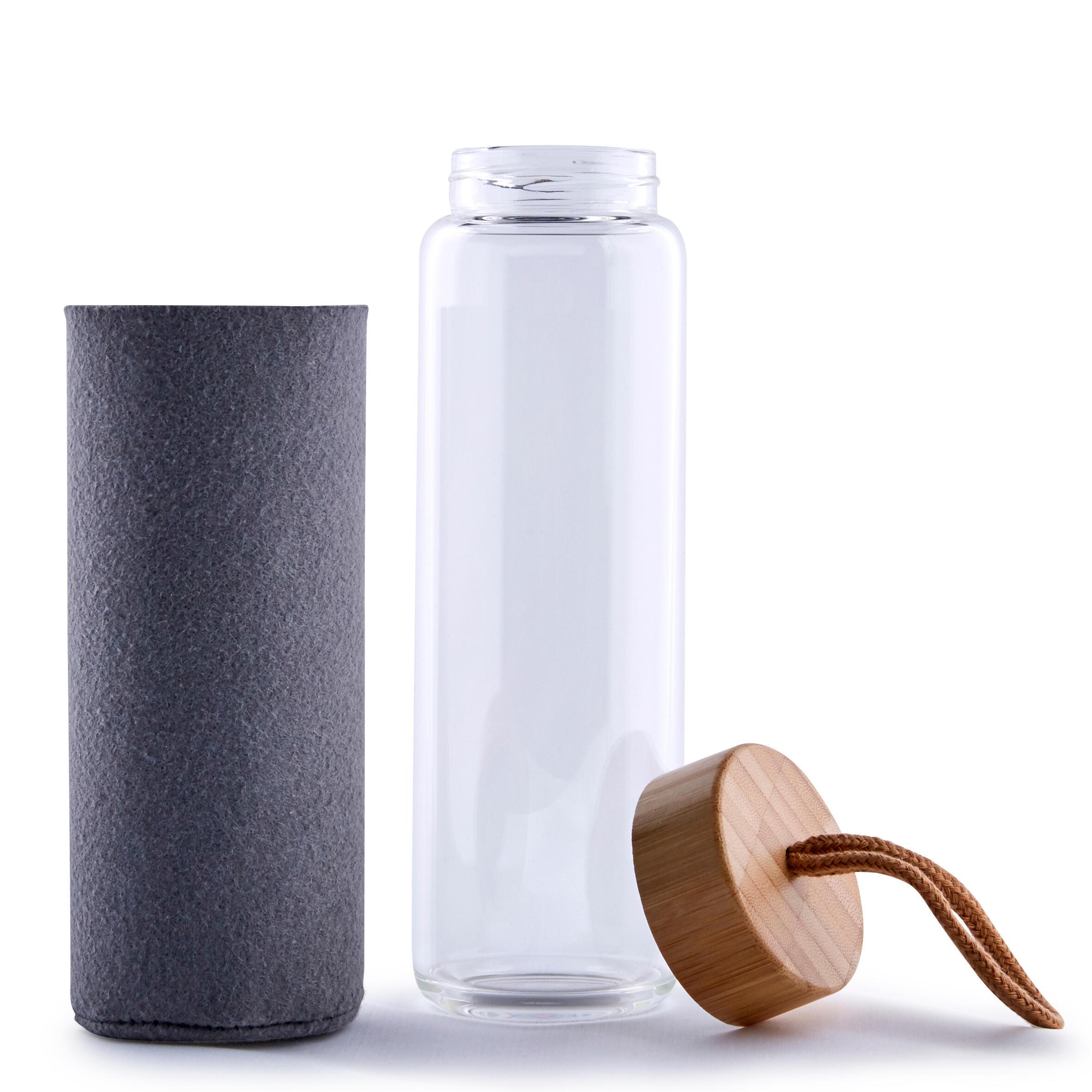 Pahar din sticlă pentru yoga la Reducere poza