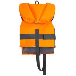 Gilet de sauvetage enfant LJ100N EASY JR orange/gris