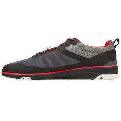 Bootschoenen voor wedstrijdzeilen uniseks Race zwart/rood