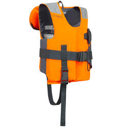 Kids Life Jacket 100N LJ EASY orange/grey