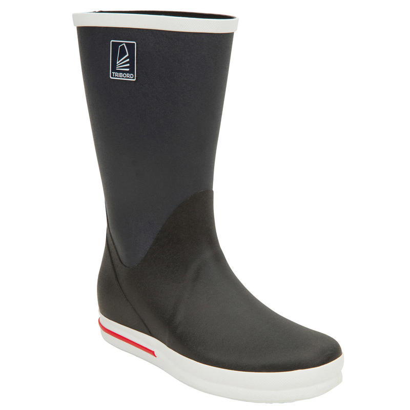 Adult's Sailing Boating Boots 500 - Grey