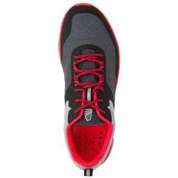 Chaussures bateau basket de voile Race 500 femme gris rose
