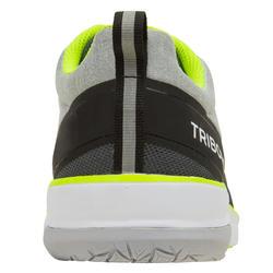 Bootschoenen voor wedstrijdzeilen uniseks Race grijs/geel