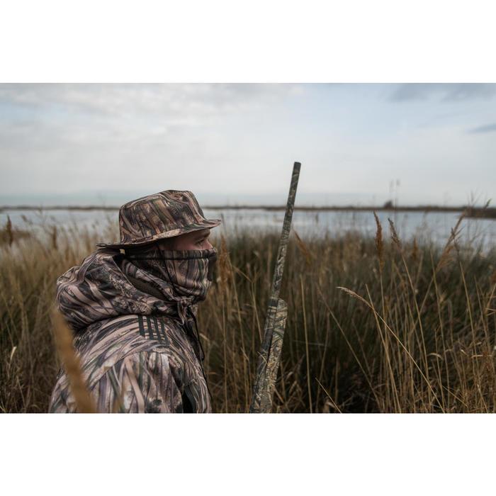 Waterdicht jagershoedje 100 moerascamouflage