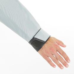 Vareuse coupe-vent Voile homme Dinghy 500 gris/noir