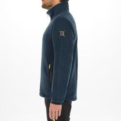 男款航海防潑水刷毛外套RACE 100-瑪瑙藍