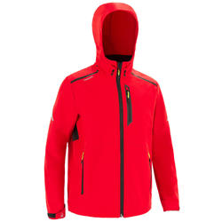 Veste softshell coupe vent Sailing 900 Homme Rouge