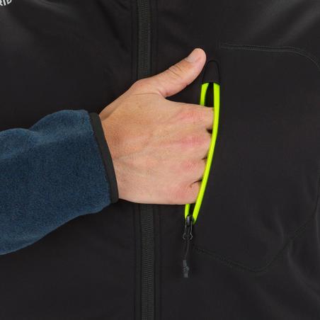 Men's Yacht Racing Sailing Softshell Gilet - Black