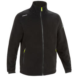 Men's Sailing Water Repellent Fleece Race 100 - Black