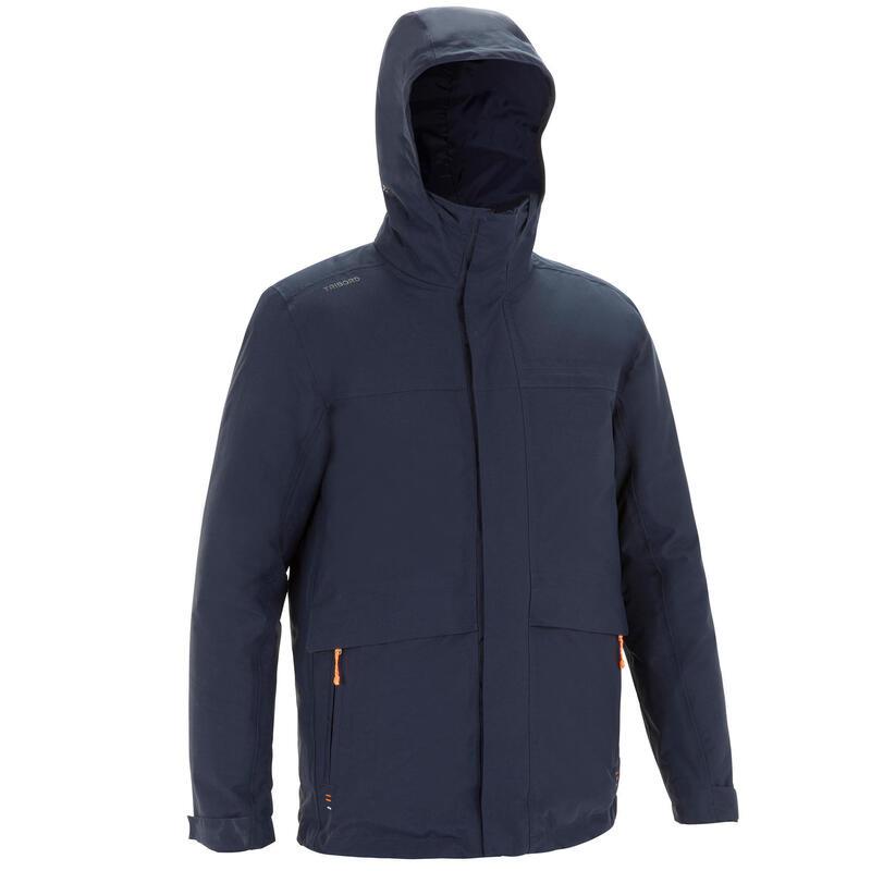 Jachetă Călduroasă Navigație 100 Bleumarin Bărbați