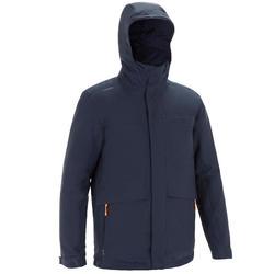 Warme zeiljas voor heren 100 marineblauw