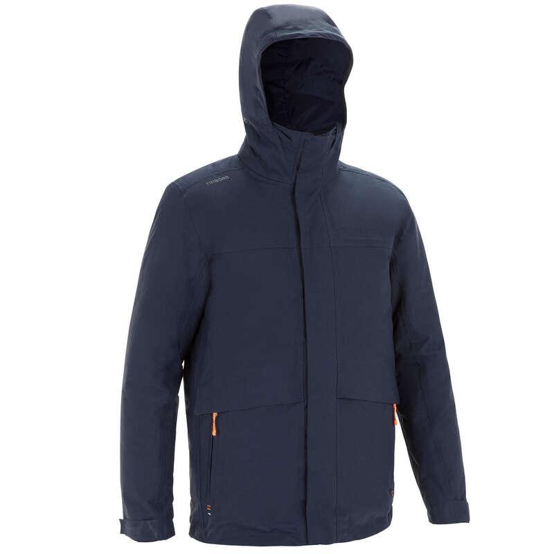 Férfi téli kabát Vitorlázás, hajózás, dingi - Férfi kabát vitorlázáshoz 100 TRIBORD - Férfi vitorlás ruházat, cipő