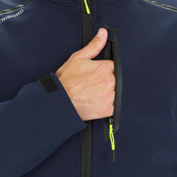 Men's Yacht Racing Softshell - Black Grey