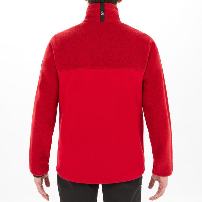 男款航海防潑水刷毛外套RACE-黑色