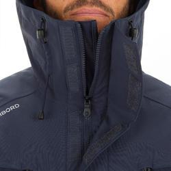 Men's Sailing Parka Jacket 500 - Grey / Navy