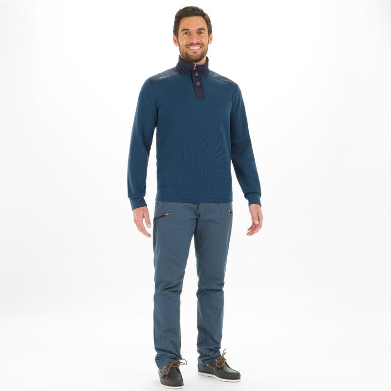 Men's Sailing Pullover 100 - Petrol Blue