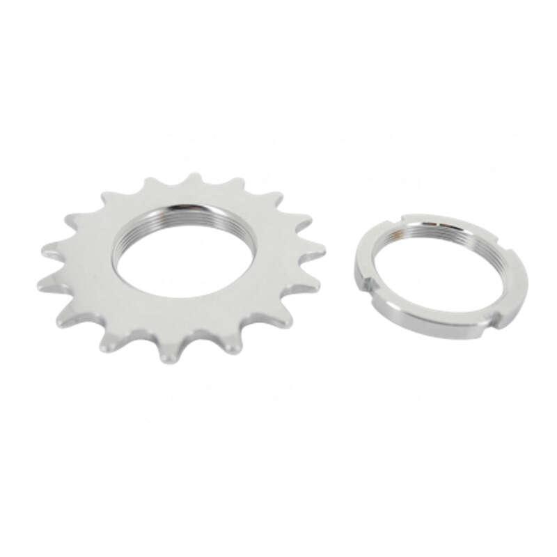 GEARING CITY Cycling - Fixed Gear Sprocket + Locknut NO BRAND - Cycling