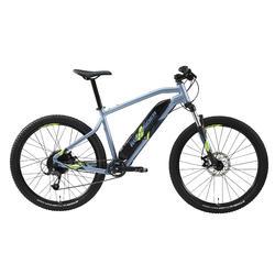 "Mtb elettrica a pedalata assistita E-ST 100 azzurra 27,5"""