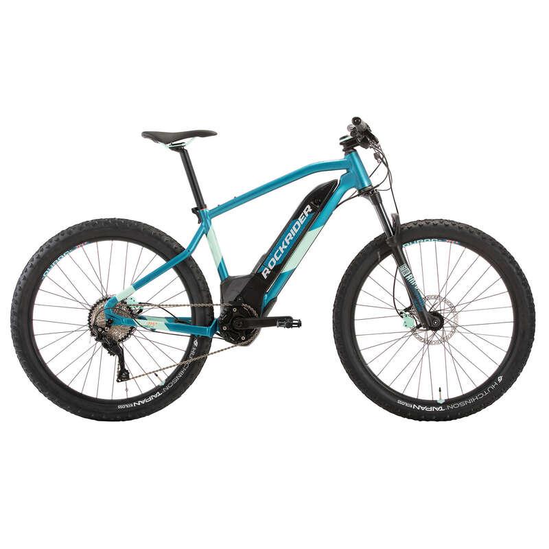 NŐI ELEKTROMOS MTB Kerékpározás - Női elektromos MTB E-ST900 ROCKRIDER - Kerékpár