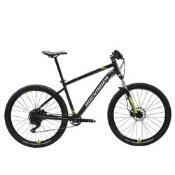 "Mountainbike ST 530 27.5"" 1x9 speed rockrider/microshift zwart"