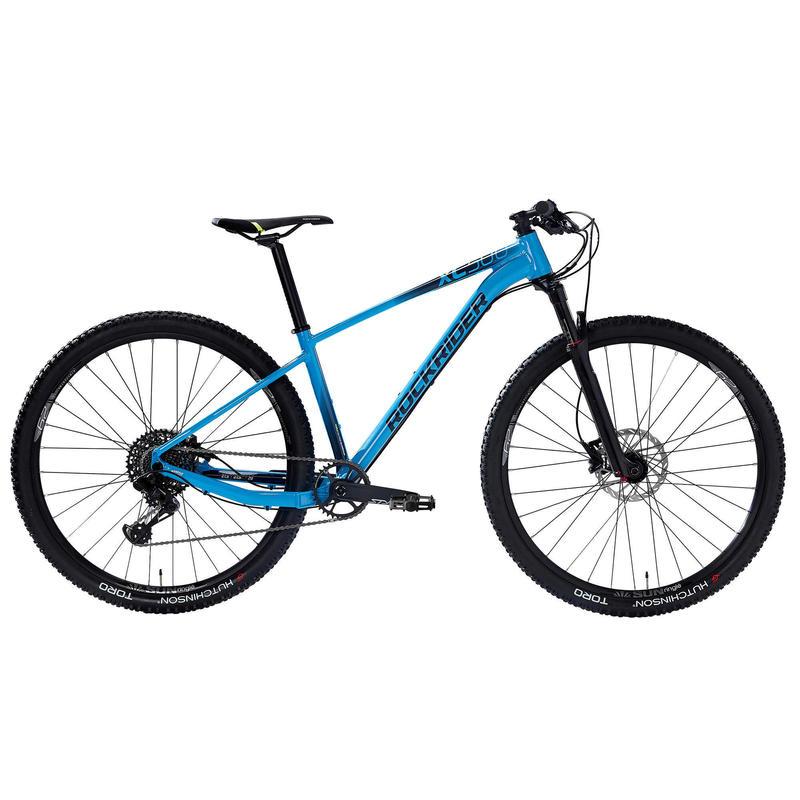 "Bicicleta BTT XC 500 29"" semirrígida EAGLE 1x12 azul claro"