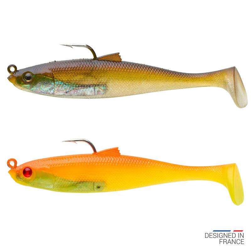 MĚKKÉ MOŘSKÉ NÁSTRAHY Rybolov - COMBO OSARDA 80 FLASHY CAPERLAN - Návnady a nástrahy na ryby