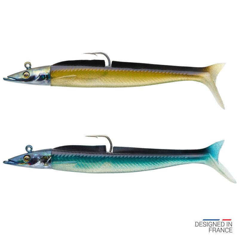 MĚKKÉ MOŘSKÉ NÁSTRAHY Rybolov - COMBO EELO 150 18 G NATUREL CAPERLAN - Návnady a nástrahy na ryby