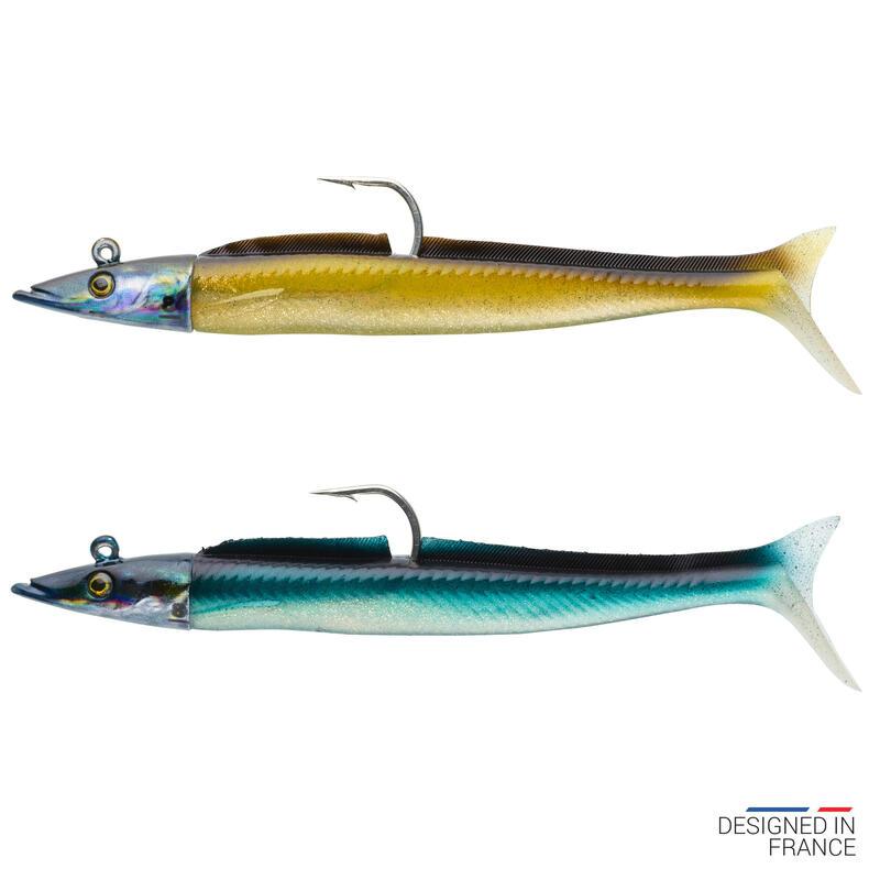 Umpan Ikan Laut Lunak Belut Pasir Eelo Combo 110 8g Alami