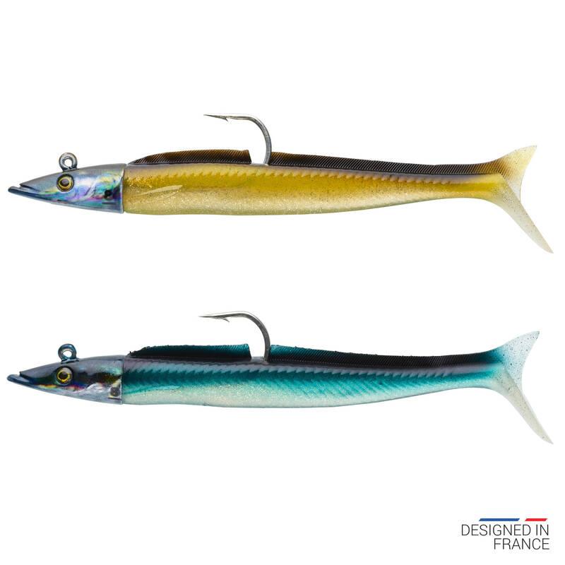 MĚKKÉ MOŘSKÉ NÁSTRAHY Rybolov - NÁSTRAHA COMBO EELO 110 8 G  CAPERLAN - Návnady a nástrahy