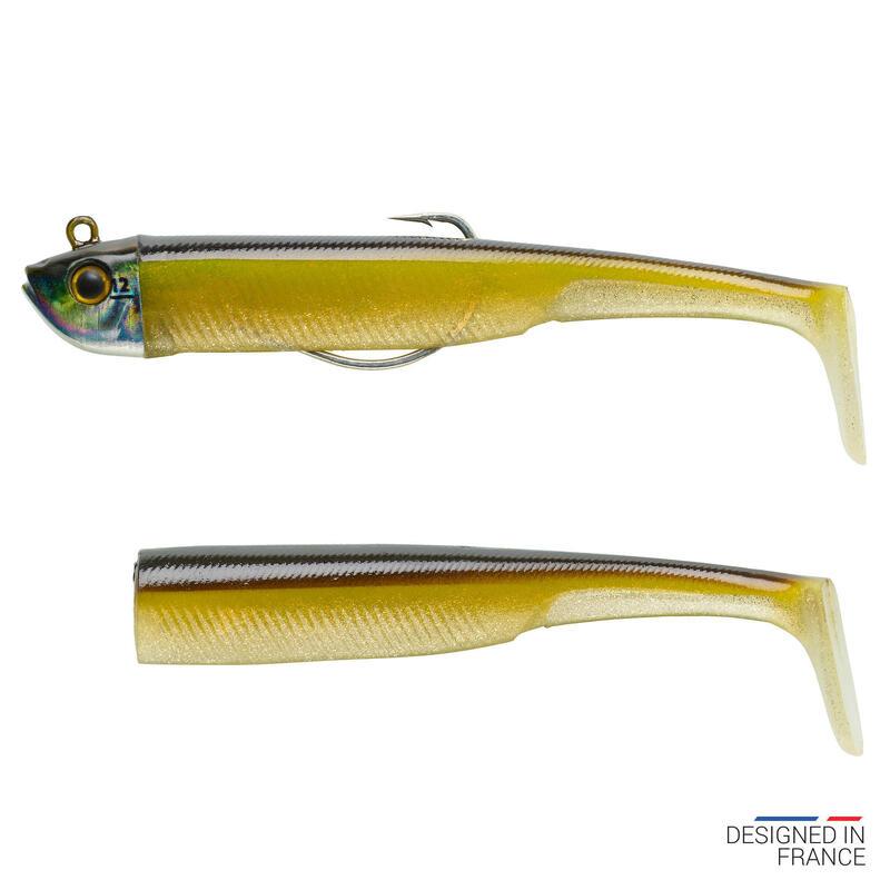 Set kunstaas voor zeevissen Texaanse shad ansjovis ANCHO 120 12 g ayu