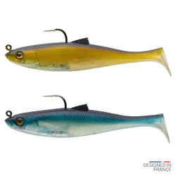 COMBO leurre Shad swimbait OSARDA 120 NATURAL