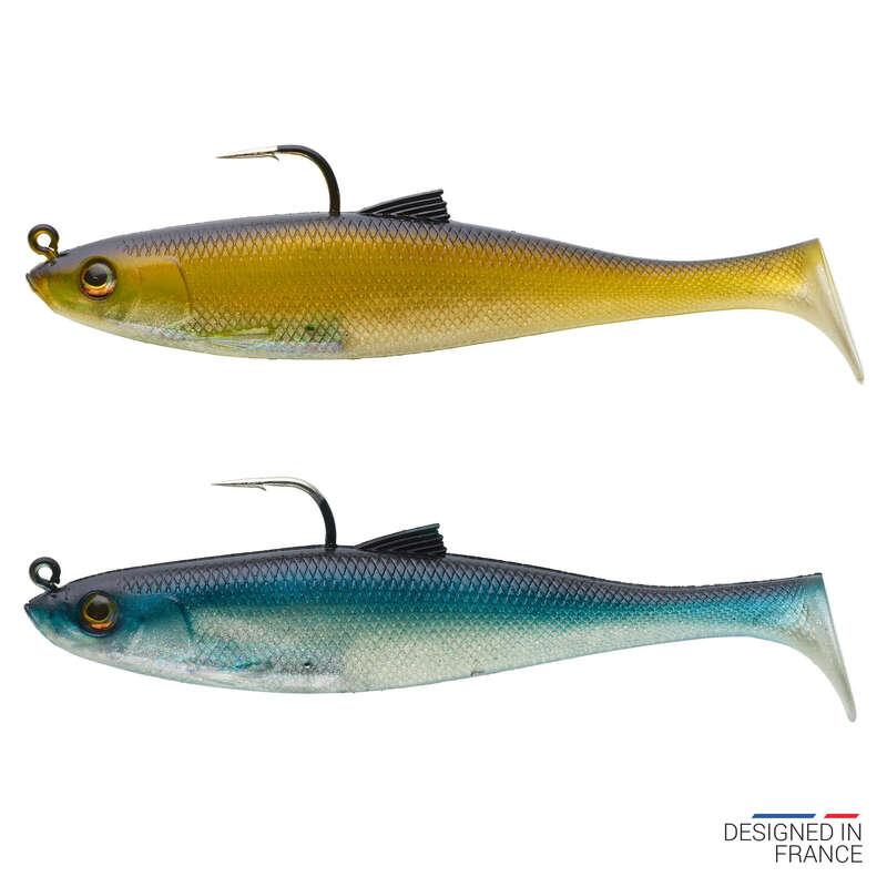 NĂLUCI FLEXIBILE PESCUIT MARIN Pescuit - Nălucă COMBO OSARDA 120 CAPERLAN - Pescuit marin cu naluci