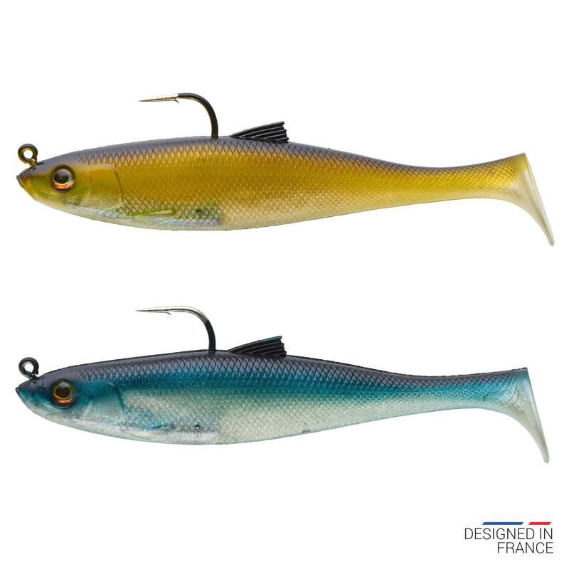 MĚKKÉ MOŘSKÉ NÁSTRAHY Rybolov - COMBO OSARDA 120 NATURAL CAPERLAN - Návnady a nástrahy na ryby