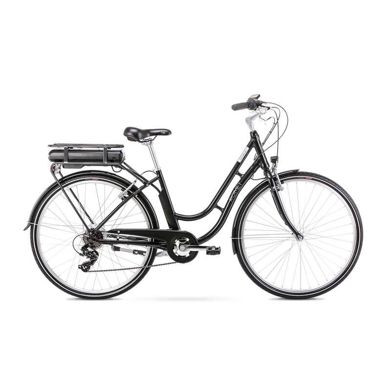 ROWERY MIEJSKIE ELEKTRYCZNE Rowery - E-Bike LEGEND czarny ROMET - Rowery