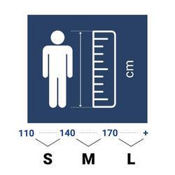 Protège-dents de rugby R500 Taille M noir (joueur(se) de 1.40M à 1.70M)