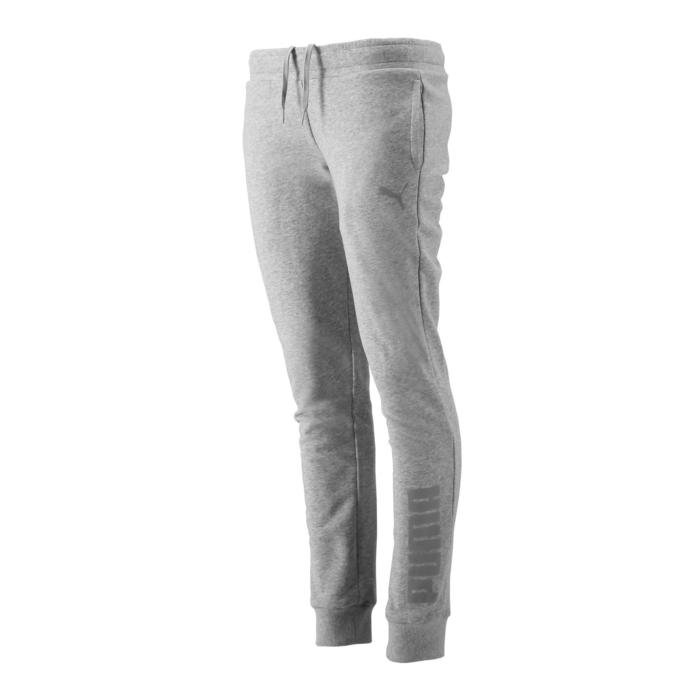 Pantalon de Jogging Puma Femme Gris