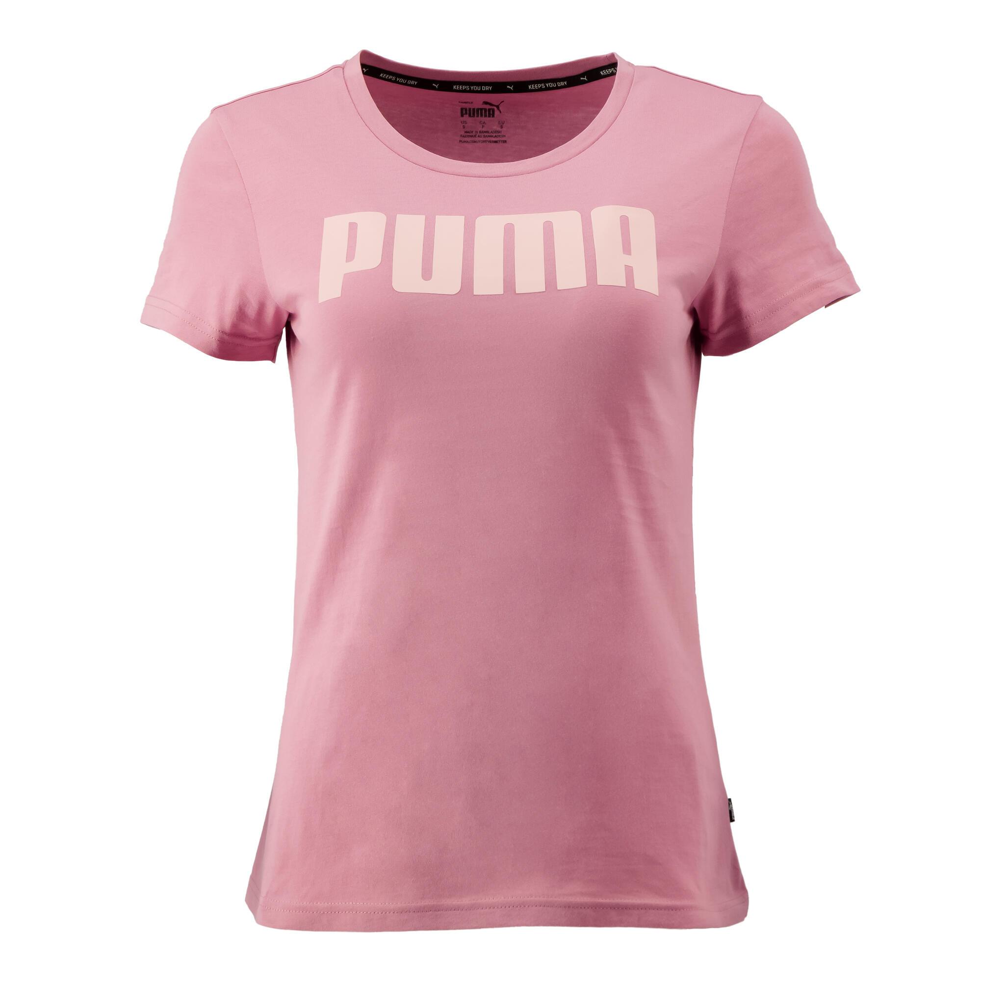 Tricou slim Puma Roz damă imagine