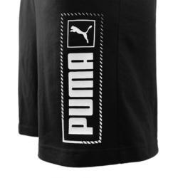 Short Puma Homme Noir avec Logo