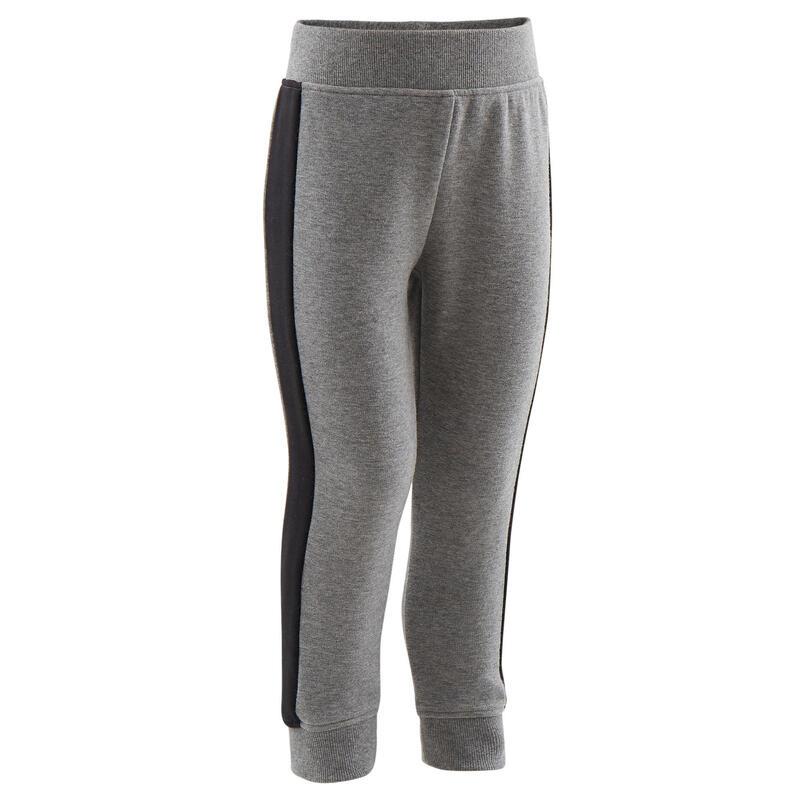 Pantalon slim chaud gris imprimé Baby Gym enfant