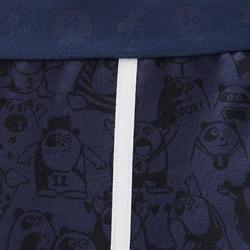 Warme legging voor peuter- en kleutergym 120 marineblauw