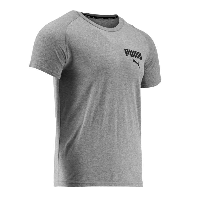 T-SHIRT E SHORT UOMO Ginnastica, Pilates - T-shirt uomo ginnastica ACTIVE PUMA - Abbigliamento uomo