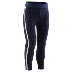 Legging chaud 120 Baby Gym Bleu Marine