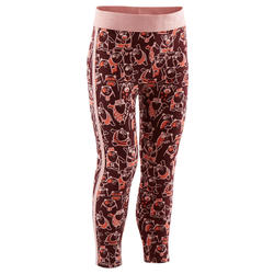 Legging chaud 120 Baby Gym Bordeaux