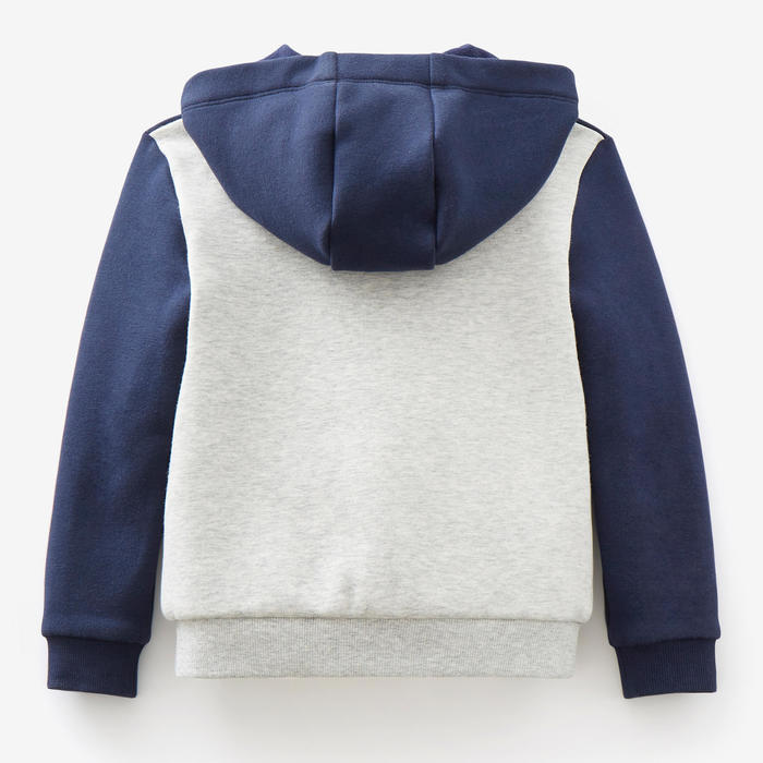 Veste chaude 120 Baby Gym Bleu marine/Gris