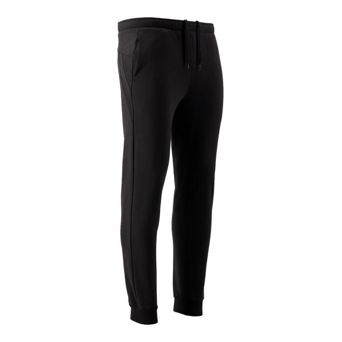 Pantalon de Jogging Puma Homme Noir avec Logo
